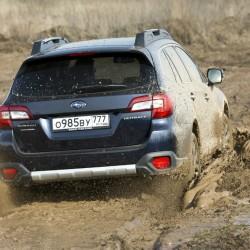 Новый имидж Subaru Outback