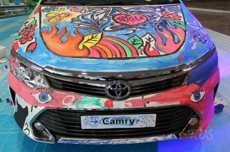 Toyota провела детский конкурс
