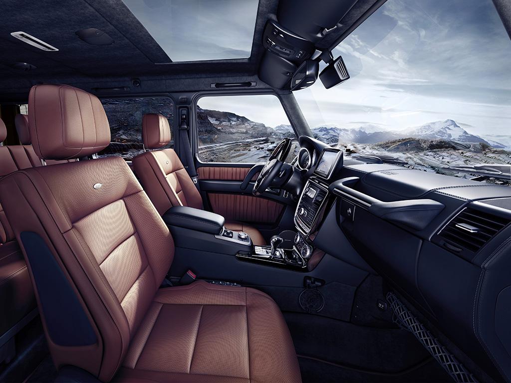 Mercedes-Benz G-Class 2015 (G 500)