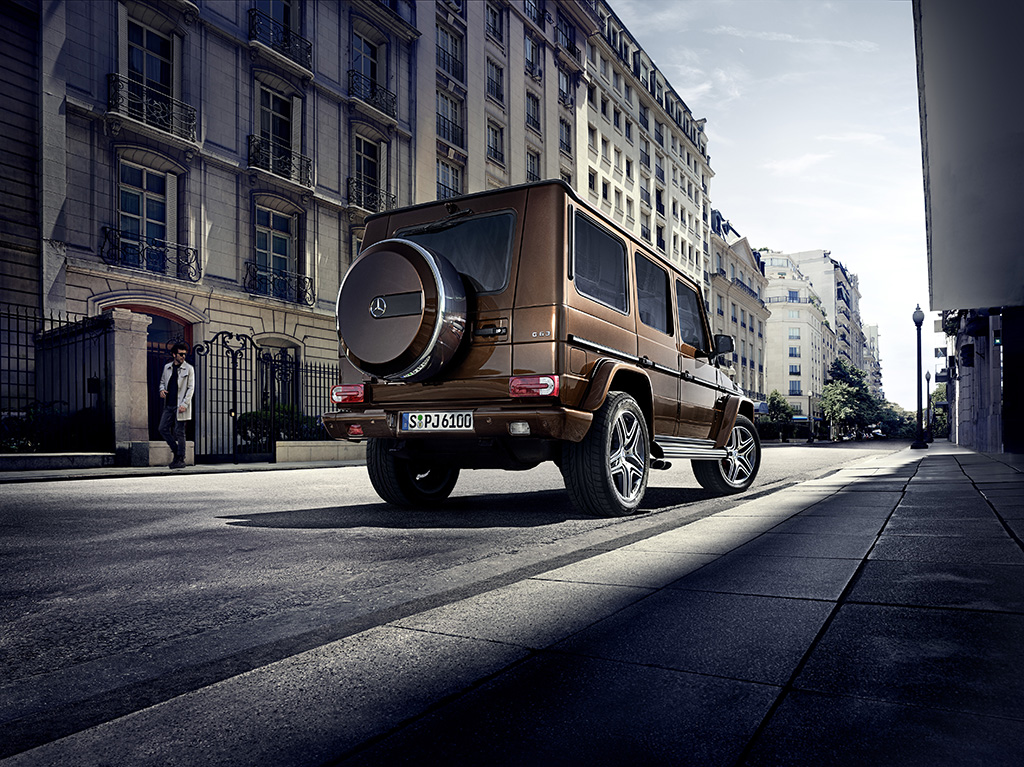 Mercedes-Benz G-Class 2015 (AMG G 63)