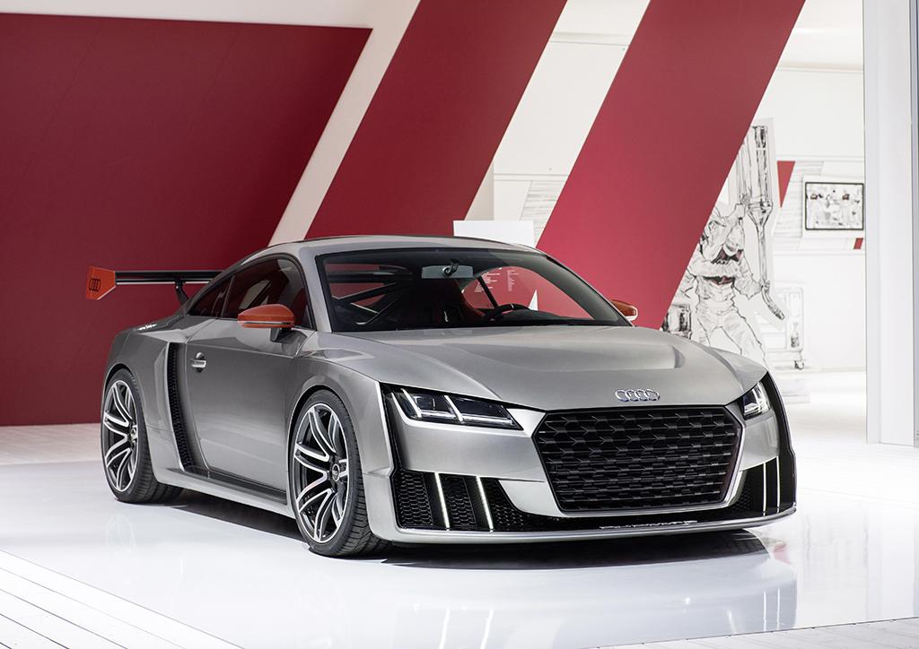 Концепт Audi TT Clubsport Turbo на фестивале Wörthersee GTI