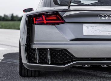 Концепт Audi TT Clubsport Turbo разгоняется до сотни за 3,6 секунд