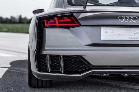 Концепт Audi TT Clubsport Turbo разгоняется до сотни за 3,6 секунд