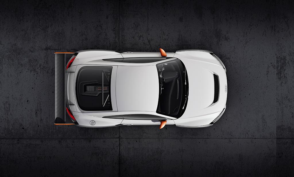Концепт Audi TT Clubsport Turbo
