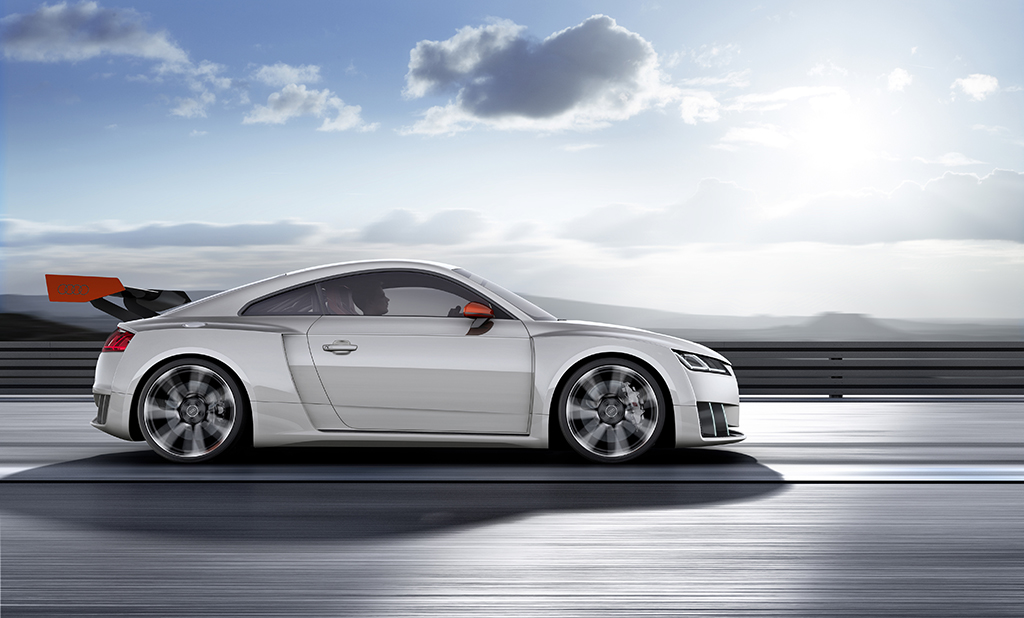 Концепт Audi TT Clubsport Turbo