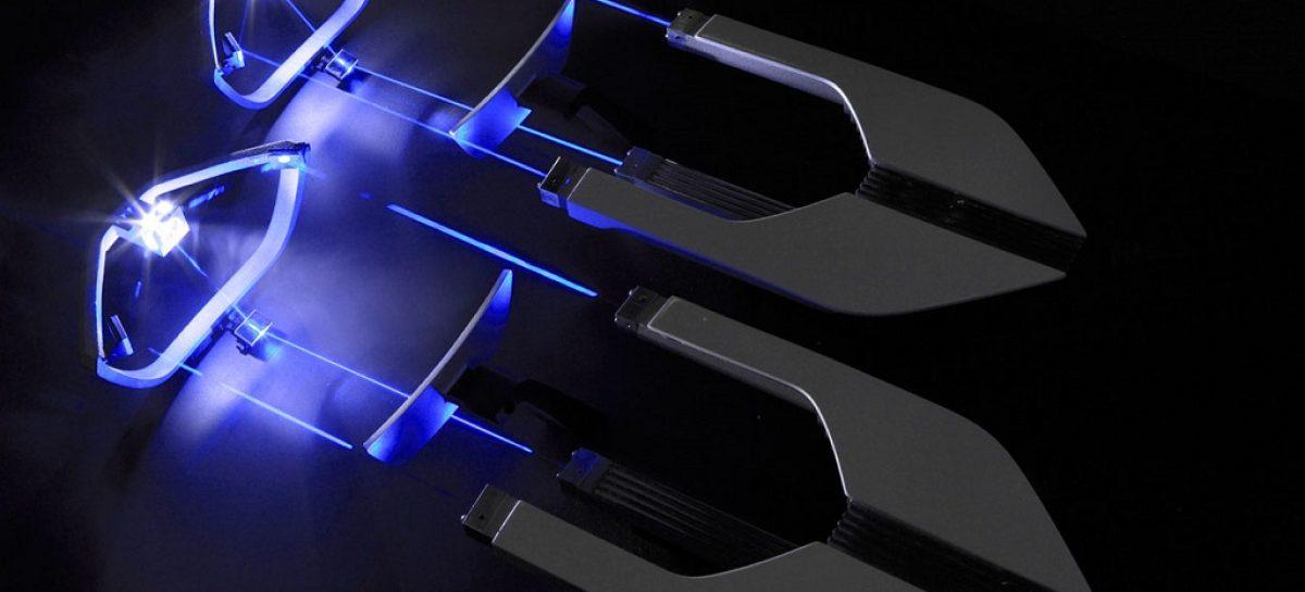Матричная система автомобильного освещения Audi Matrix Laser