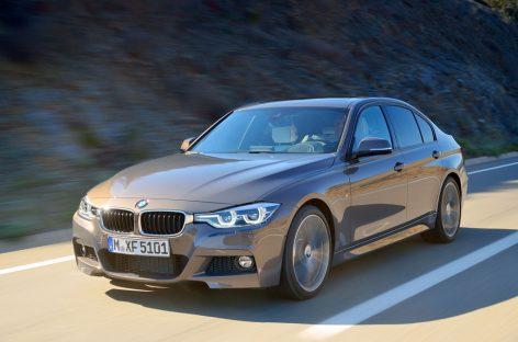 Рестайлинговые BMW 3-Series получат новые двигатели