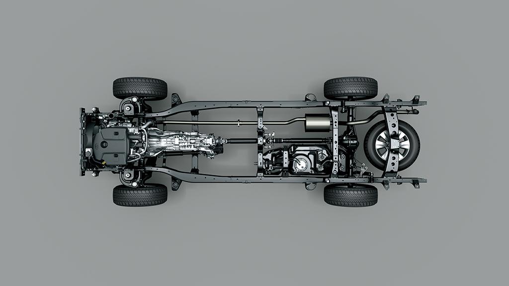 База Toyota Hilux 2015