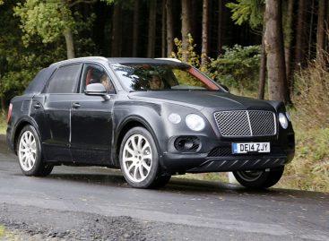 Bentley намерен расширять линейку кроссоверов