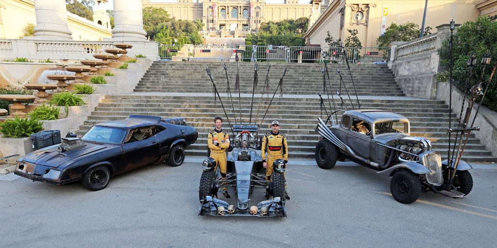 Безумный Макс - Lotus, купе Накса и Interceptor Макса