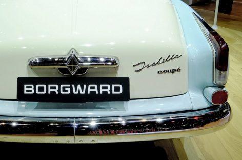 Марка Borgward возрождается для создания большого кроссовера