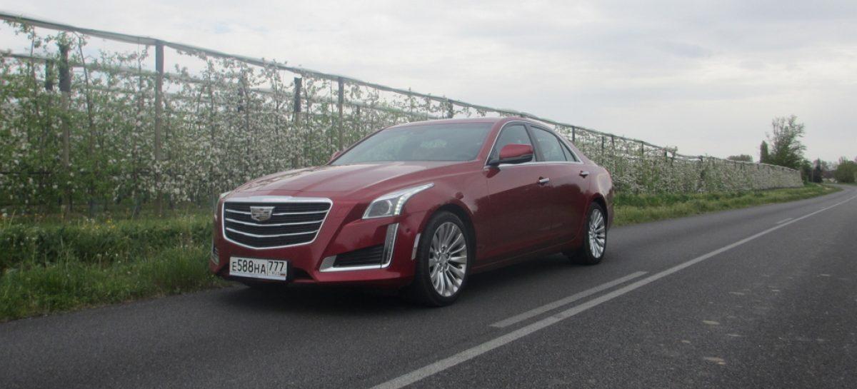 Cadillac CTS – американский европеец