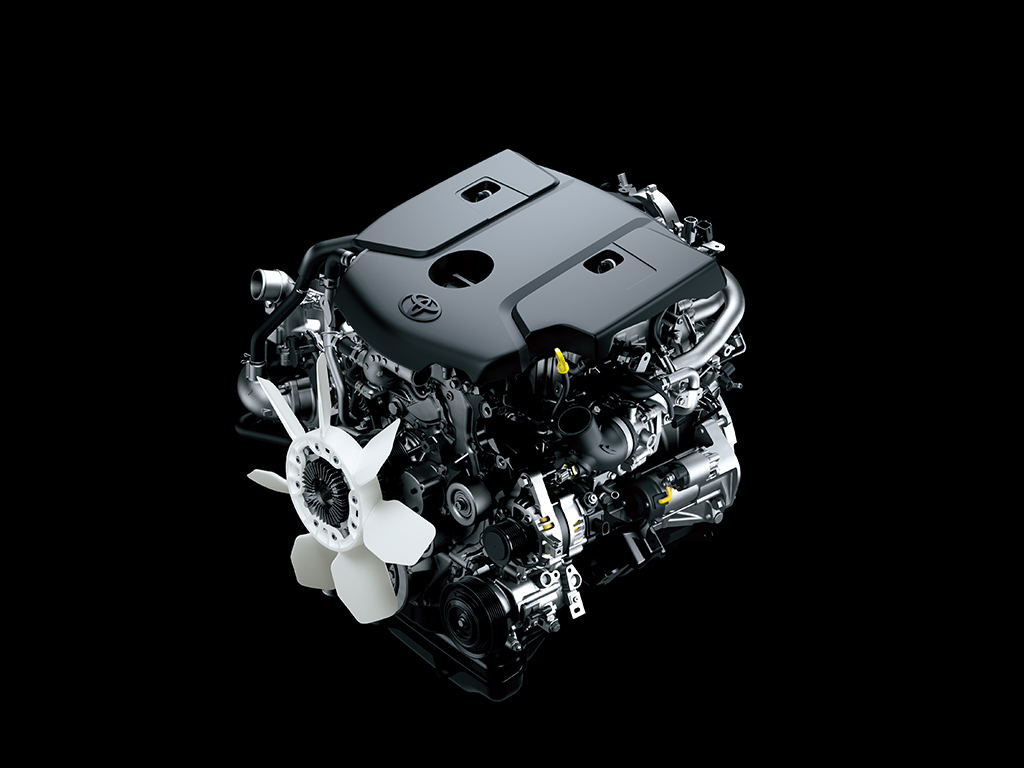 Двигатель Toyota Hilux 2015