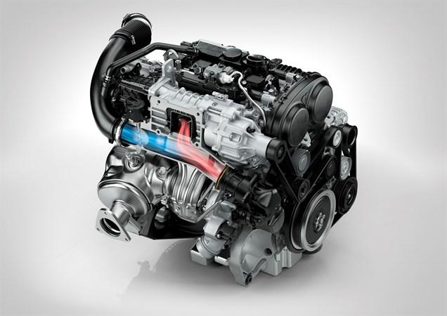 Двигатель Volvo T6 Drive-E