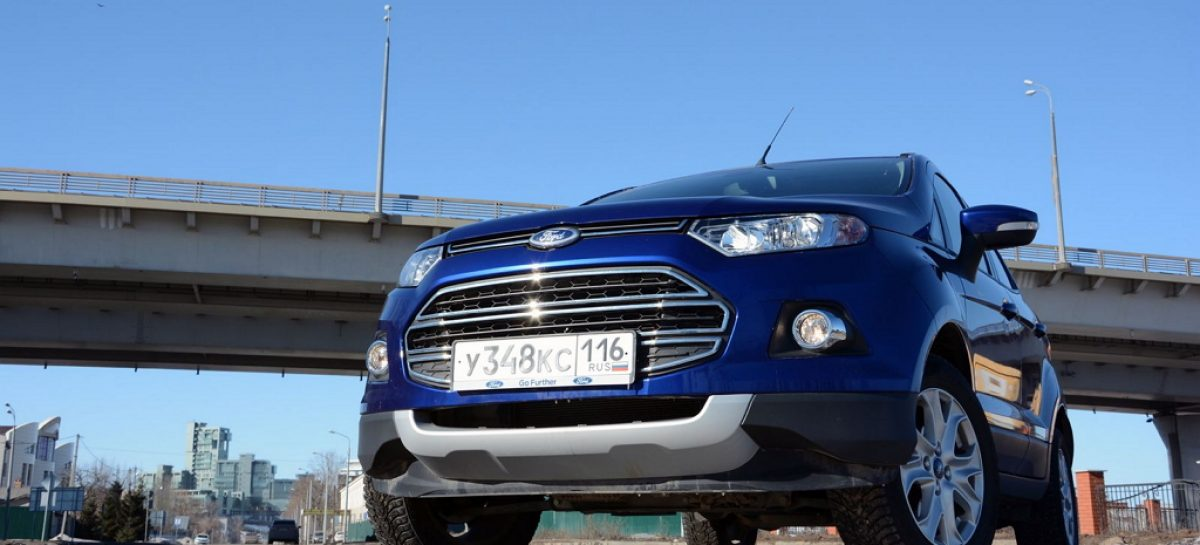В двух словах: Ford EcoSport 1.6, PowerShift, 2WD