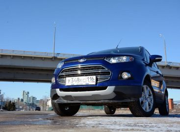 В двух словах: Ford EcoSport 1.6, PowerShift, 2WD