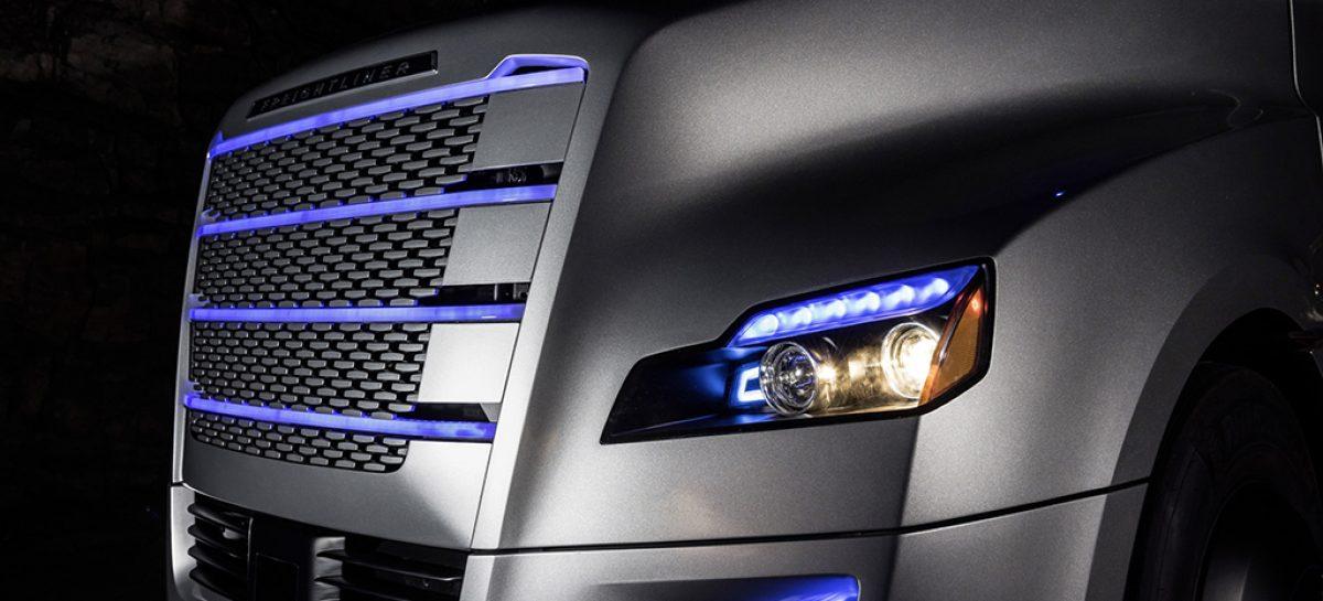 Автономный грузовик Daimler появится на дорогах общего пользования