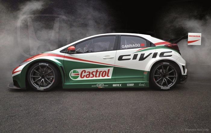 Гоночный автомобиль Honda Civic WTCC