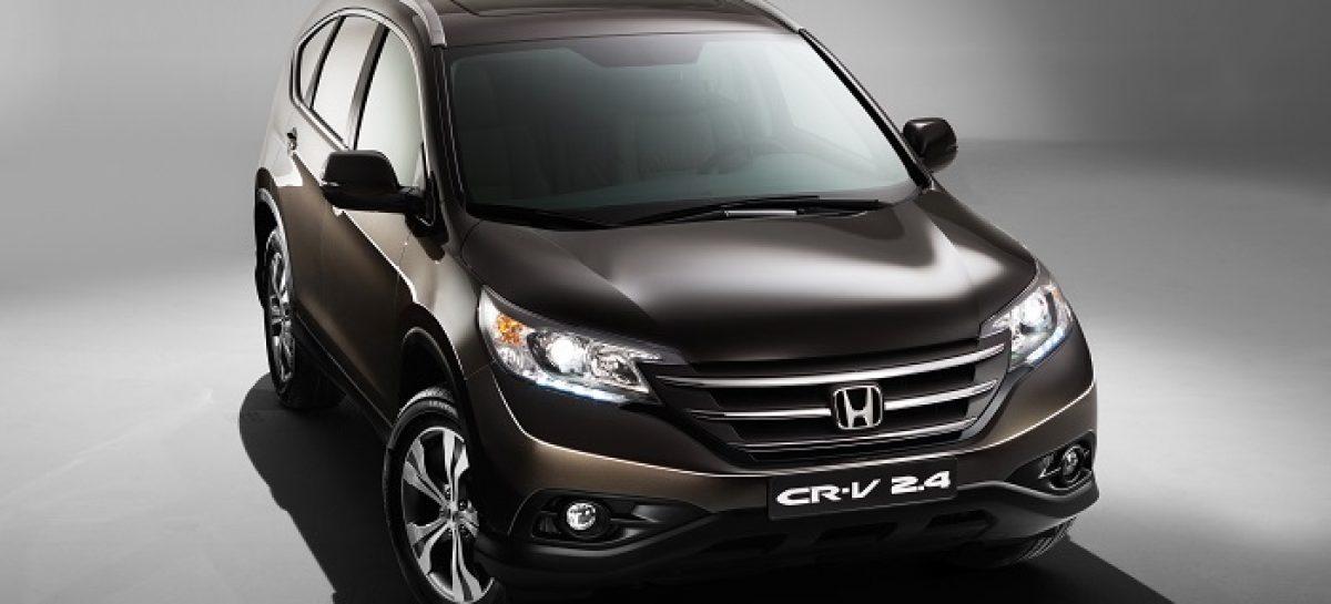 Honda дарит скидки в честь юбилея CR-V