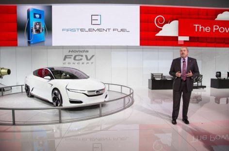 Honda запустит массовое производство водородного концепта FCV