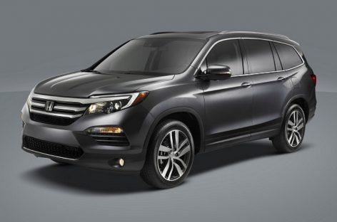 Продажи нового поколения Honda Pilot начнутся летом