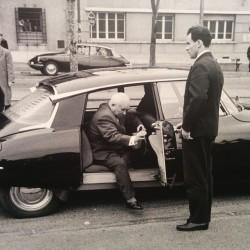 Как праздновали 60-летие Citroen DS