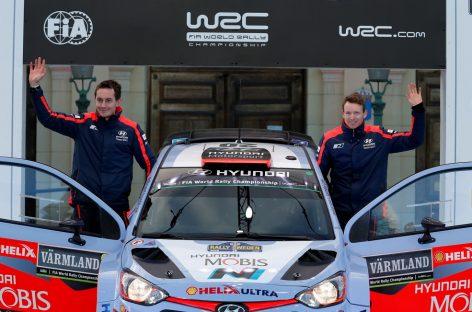 Hyundai Motorsport выводит на WRC новый экипаж