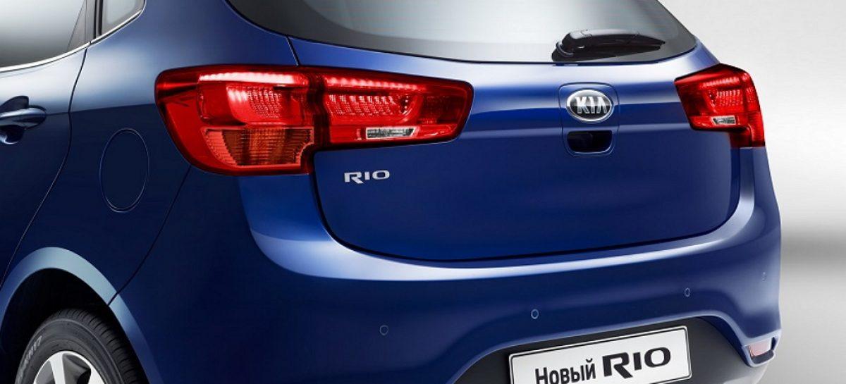 KIA Rio остается самой продаваемой моделью бренда