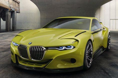 Потрясающий концепт BMW 3.0 CSL Hommage предстал во всей красе
