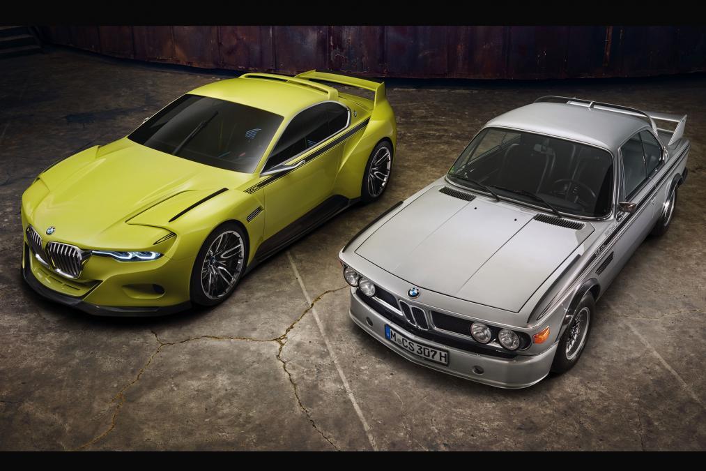 Концепт BMW 3.0 CSL Hommage