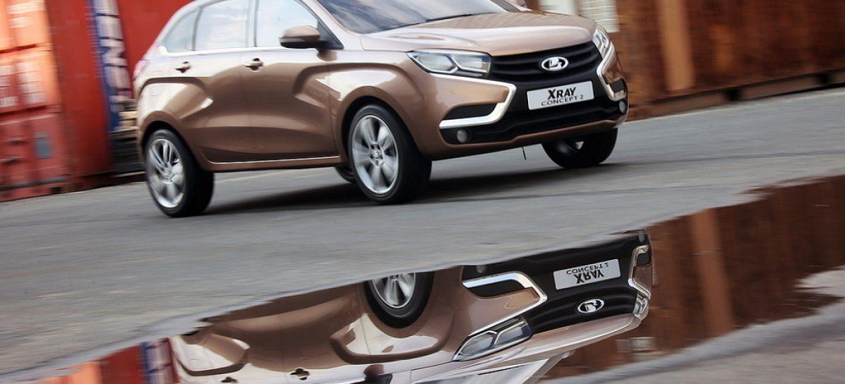АвтоВАЗ начал производство наладочной партии Lada XRay