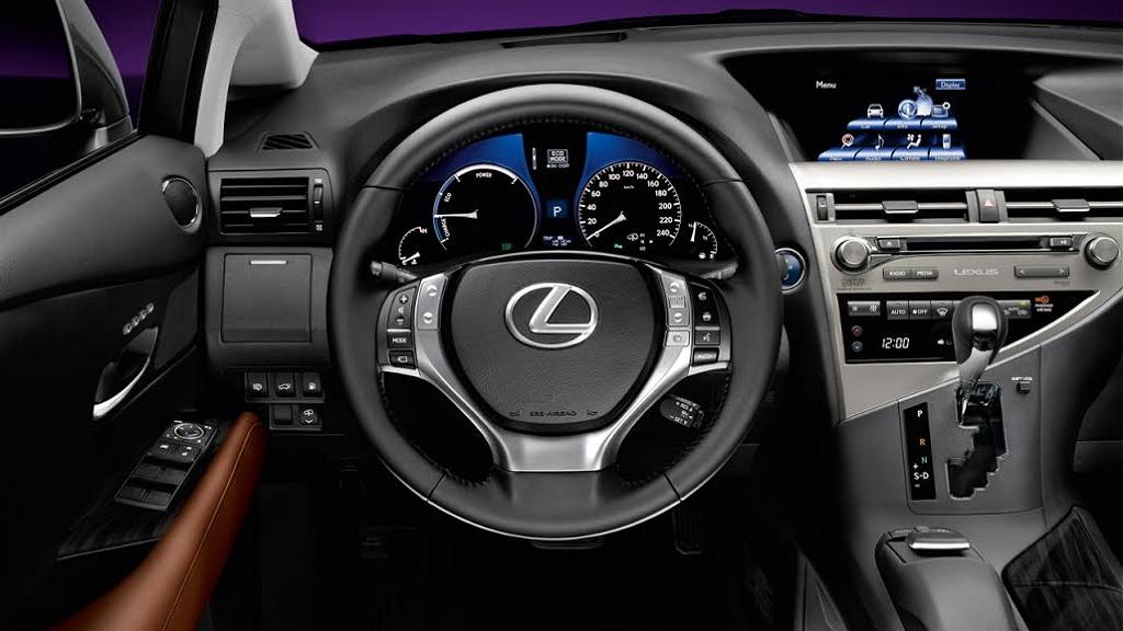 Lexus RX (гибрид)