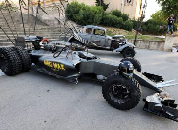 Lotus представил болид в стилистике Безумного Макса