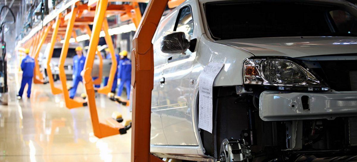 Половина иномарок в России производится на трех автозаводах