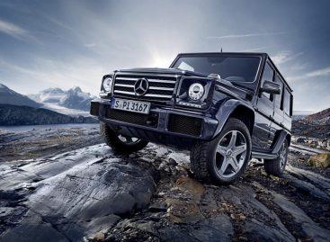 Mercedes сочинил для G-Class новый рестайлинг