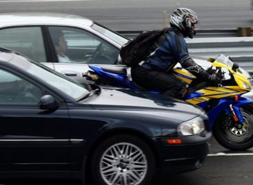 Количество ДТП с мотоциклистами в Москве снизилось на треть