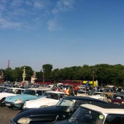 На 60-летии Citroen DS в Париже