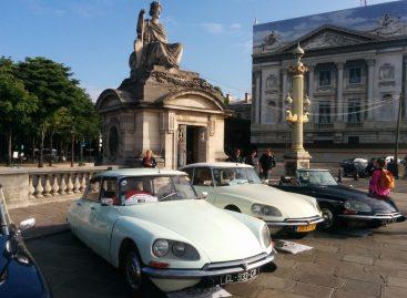 Выездной парад DS привел парижан в восторг