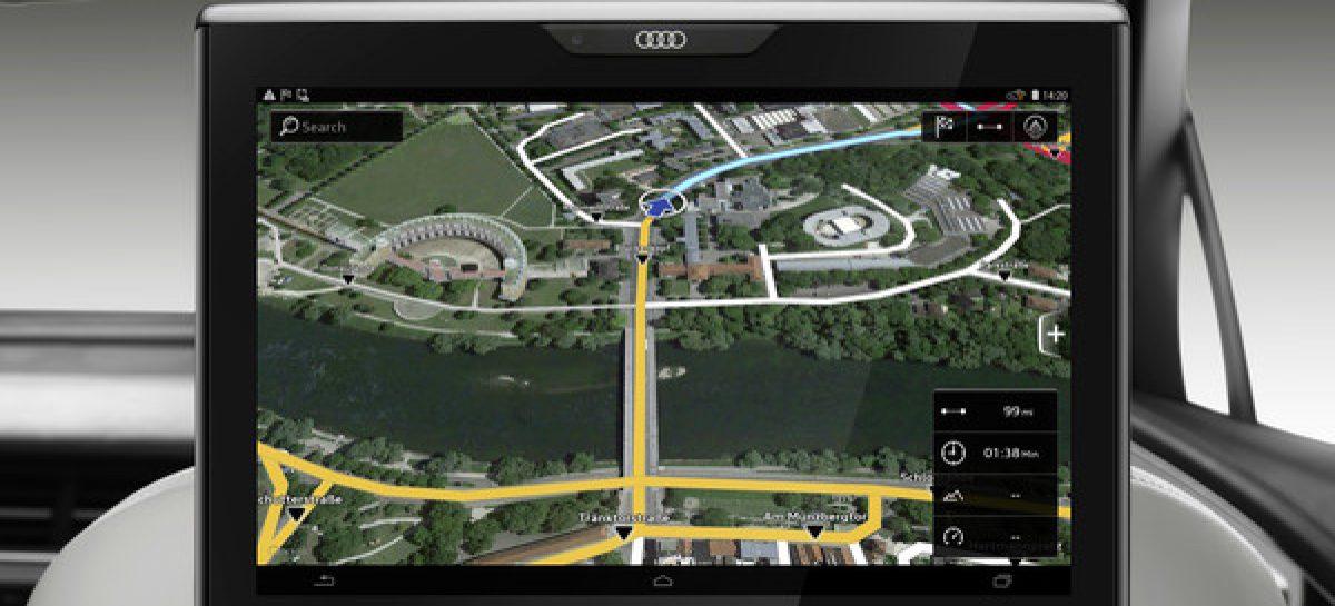 Навигационные карты от Audi помогут снизить расход топлива