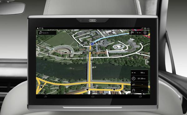 Навигационные карты Audi