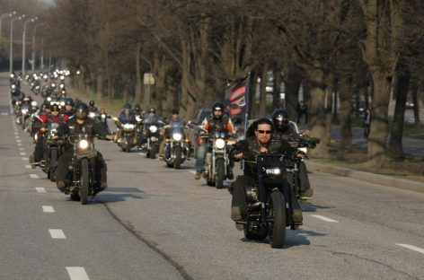 Вместо казаков будут мотоциклисты