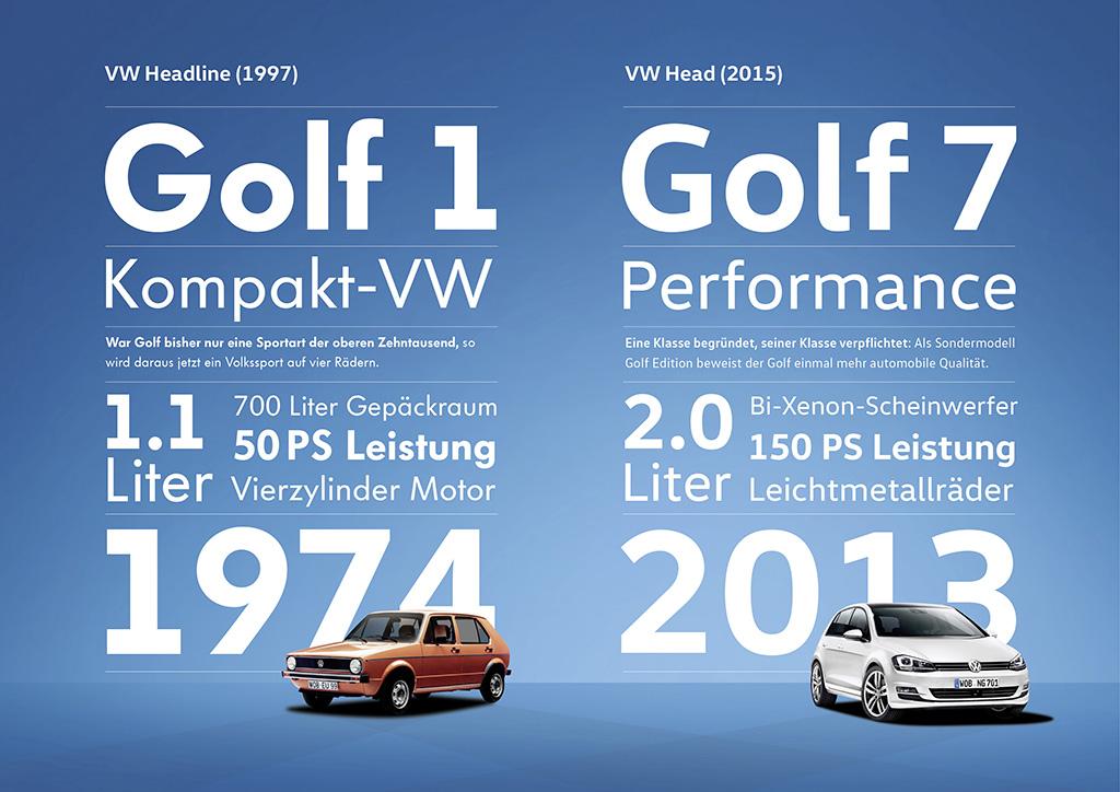 Новые фирменные шрифты Volkswagen