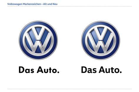 Volkswagen меняет шрифт для надписей на автомобилях