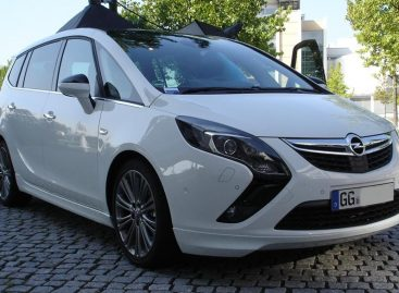 Для большой семьи – Opel Zafira Tourer с приличной скидкой