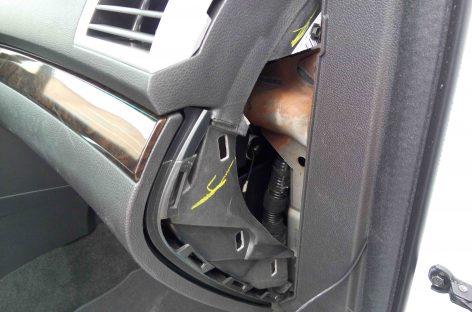 Конструктивная особенность Ford Explorer