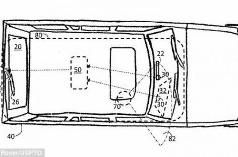 Jaguar придумал задние дворники, работающие в паре с ай-трекингом