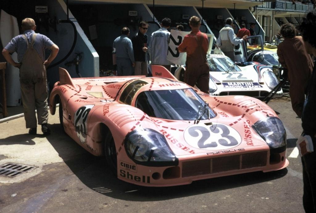 Porsche 917 20 Свинья Ле-ман 1971
