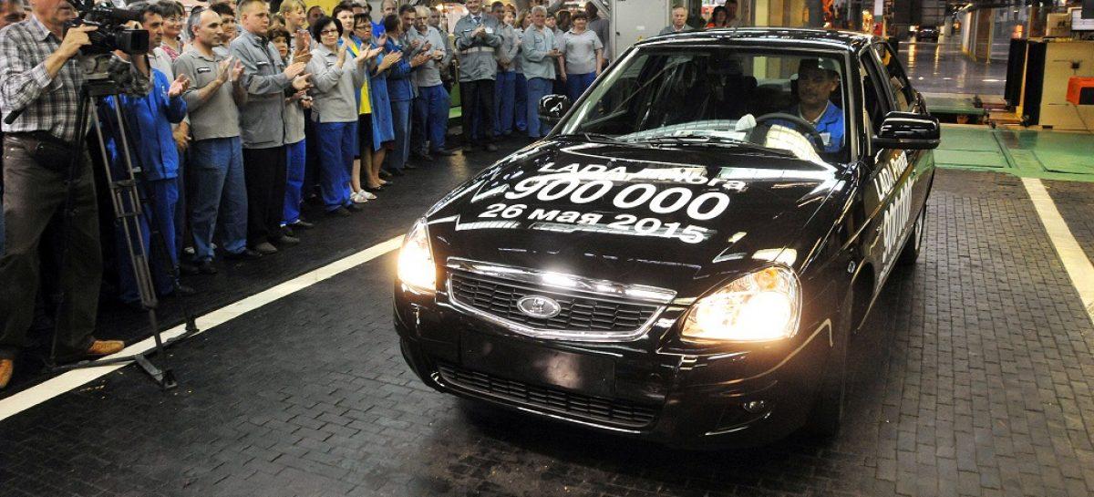 АвтоВАЗ выпустил 900-тысячную Приору