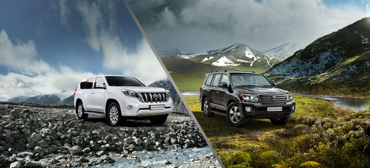 Toyota Land Cruiser Prado и Toyota Land Cruiser 200 можно купить дешевле