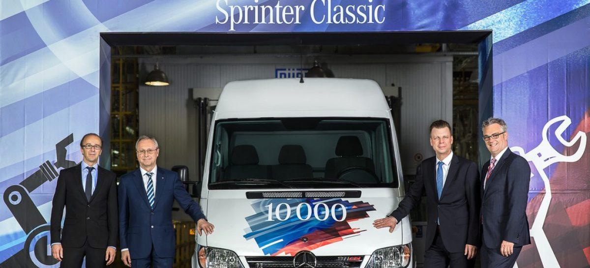 В России произведен 10 000-й Sprinter Classic